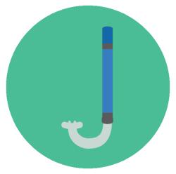 Schnorchel-Ausrüstung