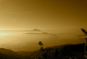 Sonnenuntergang Philippinen