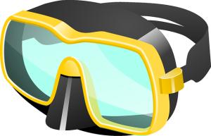 Taucherbrille mit Sehstärke Titel