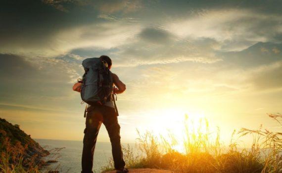 Kompakte Schnorchelausrüstung für Backpacking