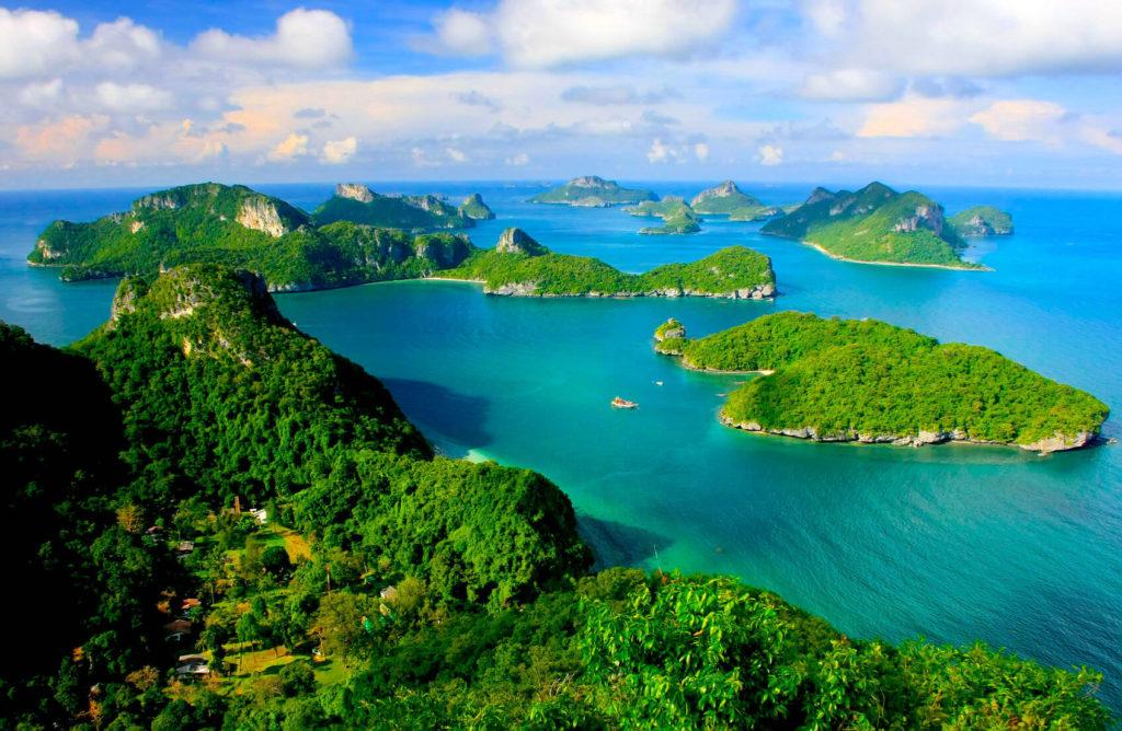 Ang Thong Nationalpark Thailand